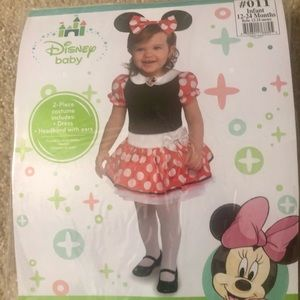 Minnie Mouse Dress for infants 12-24 months old